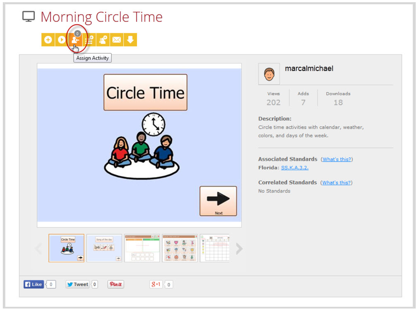 Morning Circle Time