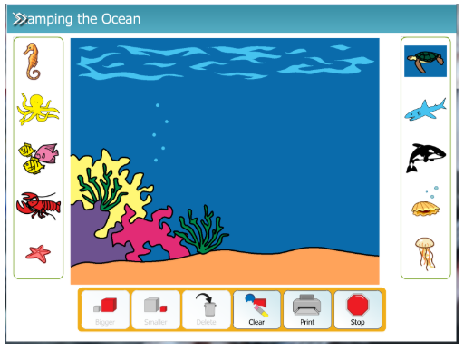Activity: Stamping the Ocean